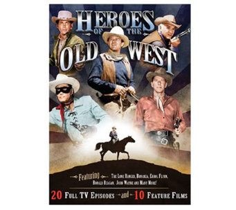 Heroes of the Old West 4-Disc DVD Collection - E263056
