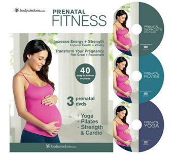 Prenatal Fitness Deluxe - 3 Disc Set - E263156