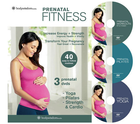 Prenatal Fitness Deluxe - 3 Disc Set
