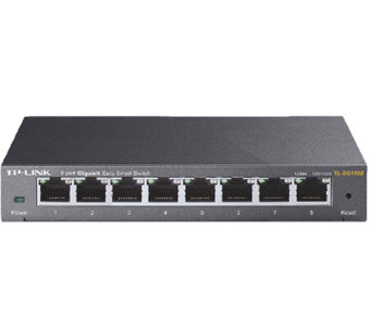 TP-Link 8-Port Gigabit Easy Smart Switch - E282456