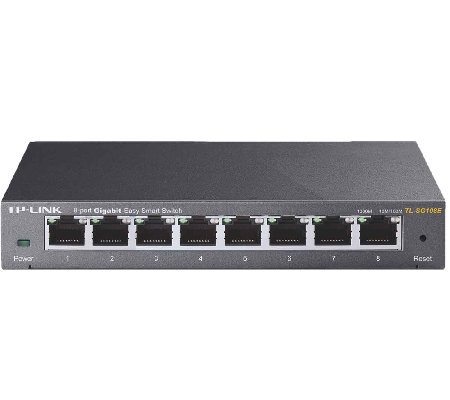 TP-Link 8-Port Gigabit Easy Smart Switch