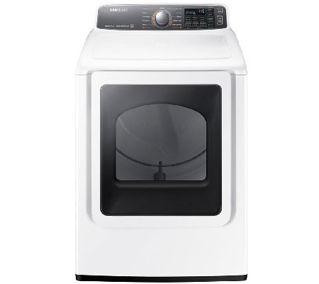 Samsung 7.4 Cubic Foot 7700 Series Front-Load Electric Dryer
