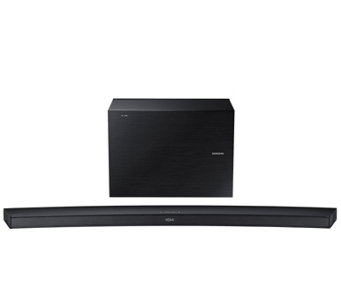 Samsung 4.1 Channel Wireless  Curved Soundbar &Subwoofer - E288756