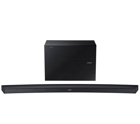 Samsung 4.1 Channel Wireless  Curved Soundbar &Subwoofer