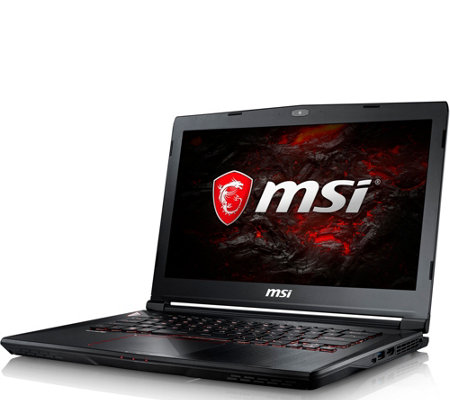 "MSI 14"" Laptop - i7, 16GB RAM, 128GB SSD, 1TB HDD, GTX 1060"