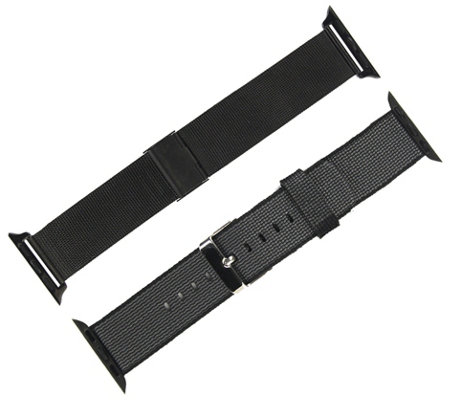 Digital Gadgets 2-Pack Replacement Bands for Apple Watch 38mm