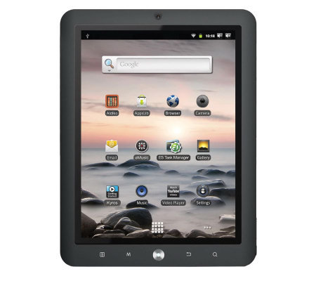 "Coby Kyros WiFi 8"" Diag. Touchscreen 1GHz Tablet w/1080p Video"