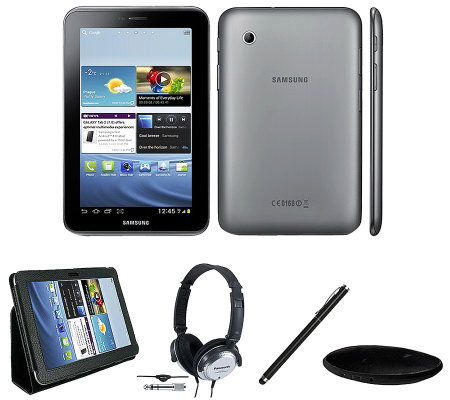"Samsung 7"" Galaxy Tab 2 8GB Wi-Fi Bundle"