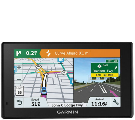 "Garmin DriveSmart 51 LMT-S 5"" GPS Navigator with Lifetime Map"