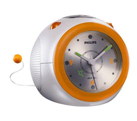 philips aj3160 stylish clock radio w gentle wake