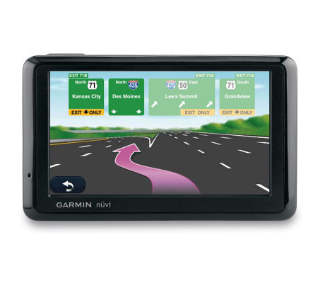 "Garmin nuvi 1390LMT 4.3"" GPS with Lifetime Maps and Traffic"