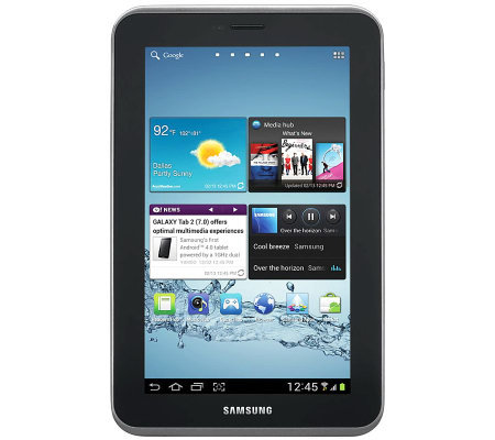 "Samsung Galaxy 2 7"" 8GB Tablet w/ Front & RearCam - WiFi"
