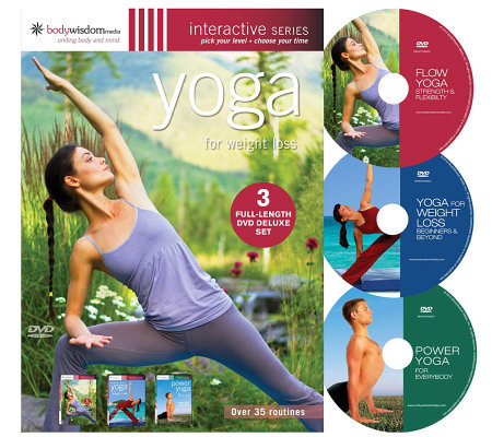 Yoga for Weight Loss -3 Disc Deluxe Set
