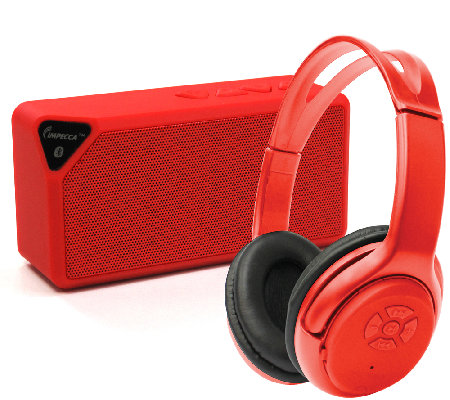 Bluetooth Speaker and Wireless Stereo Headset