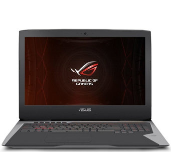 "ASUS ROG 17.3"" Gaming Laptop - i7, 32GB, GTX 1070 - OC Edition - E290058"