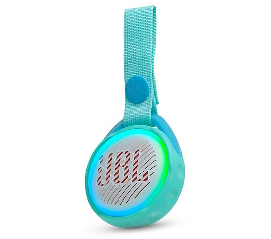 Jbl Jr Pop Kids Portable Bluetooth Speaker Qvc Com