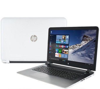"HP 17"" Laptop Windows 10 6GB RAM 1TB HDD AMD Quad Core LifetimeSupport - E228059"