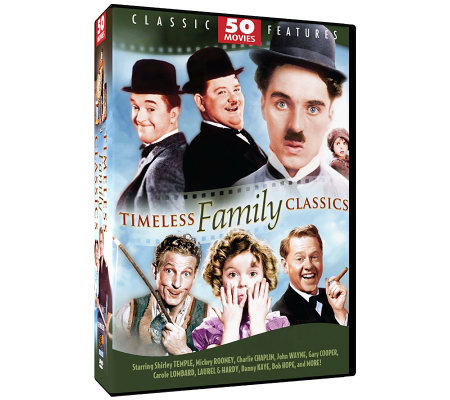 Timeless Family Classics - 50 Movies - 12-DiscDVD Set