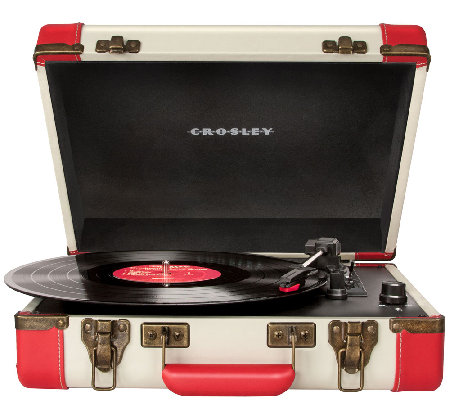 Crosley Executive Portable USB 3-Speed Turntable