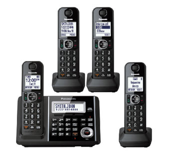Panasonic Expandable Answering System with FourHandsets - E283359