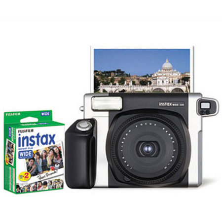 Fujifilm Instax Wide 300 Instant Camera with 20-Pack Film