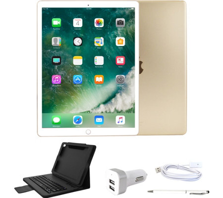 "Apple iPad Pro 12.9"" 64GB Wi-Fi with BluetoothKeyboard & More"
