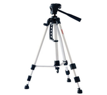 "DigiPower 53"" Tripod with Three-Way Pan Head - E243960"