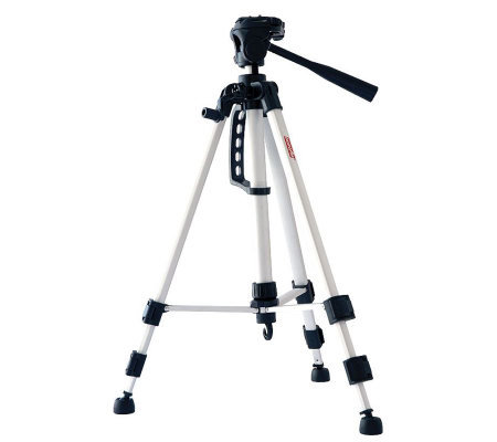"DigiPower 53"" Tripod with Three-Way Pan Head"