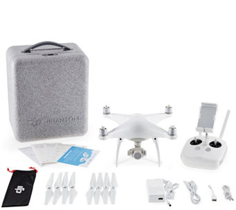 DJI Phantom 4 Bundle with Extra Battery and Hardshell Backpac - E290360