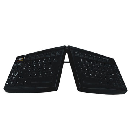 Goldtouch Adjustable PS/2 Keyboard - Black
