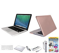 Apple MacBook Pro 13 Bundle with Clip Case, Wireless Mouse, & Software - E230061
