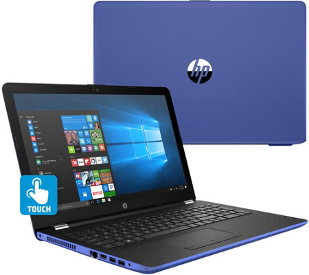 "HP 15"" Touch Laptop Intel i3 8GB RAM 2TB HDD w/ Backlit Keys & Software"