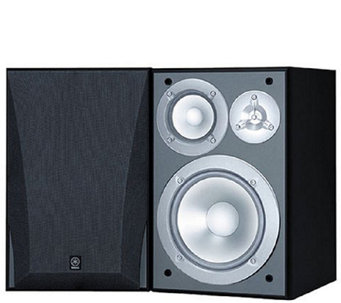 Yamaha 3-Way Acoustic Suspension Bookshelf Speakers - E285461