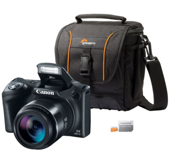 Canon PowerShot SX540 HS 20MP Digital Camera w/Wi-Fi & More - E288561