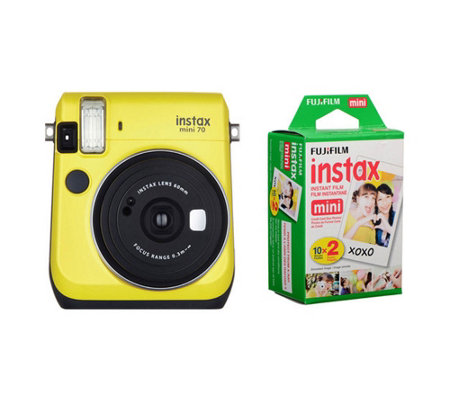 Fuji INSTAX Mini 70 Camera with 20-Pack Film