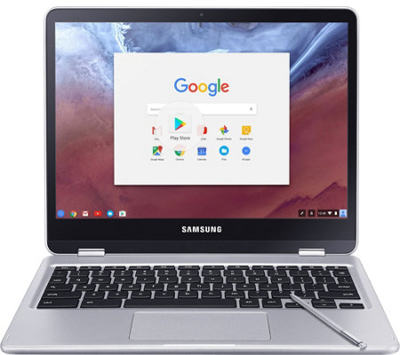 "Samsung 12.3"" Chromebook Plus Touch - Hexa-Core, 4GB RAM, 32GB"