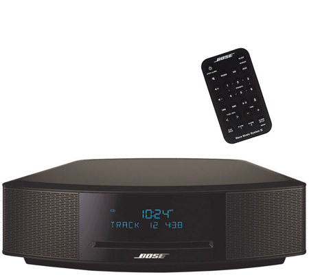 Bose Wave Music System IV with CD Slot & Dual Alarm