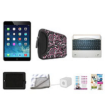 Apple iPad Air 4G / Wi-Fi 16GB with Bluetooth Keyboard, Case & Accessories - E229962