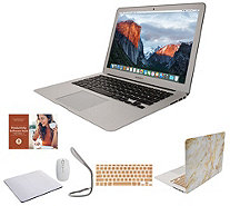"Apple MacBook Air 13"" Laptop w/ Clip Case, Wireless Mouse and Accessories - E232062"