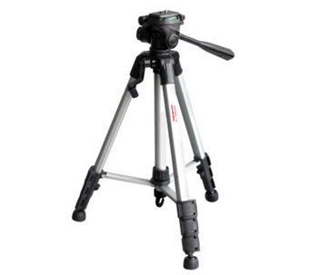 "DigiPower 62"" Tripod with Three-Way Pan Head - E243962"