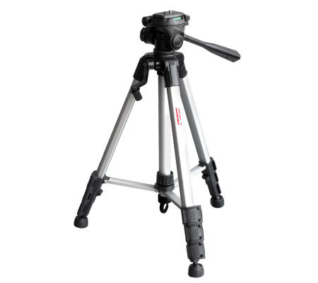"DigiPower 62"" Tripod with Three-Way Pan Head"