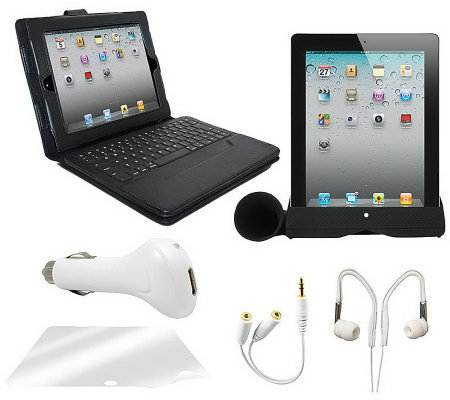 Apple iPad 2 32GB Wi-Fi Tablet PC 6-Piece Bundle