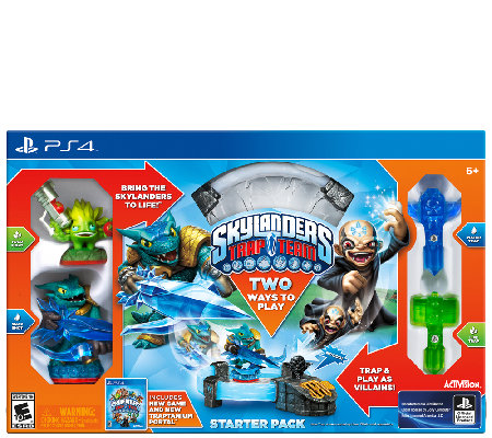 Skylanders Trap Team Starter Kit - Sony PS4