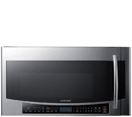 Samsung 1.7 Cubic Foot Over-the-Range Microwavewith Slim Fry