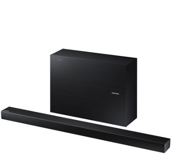 Samsung 2.1 Channel Soundbar with Wireless Active Subwoofer - E288762