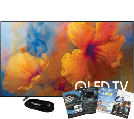"Samsung 65"" QLED Smart Hub Q4K HDR Elite TV w/HDMI & App Pack"