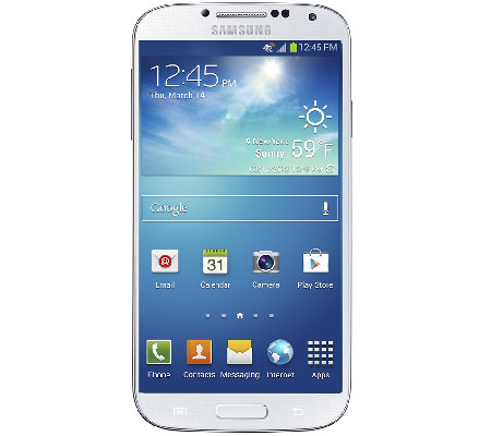 Samsung Galaxy S4 Unlocked Android Smartphone with App Pack