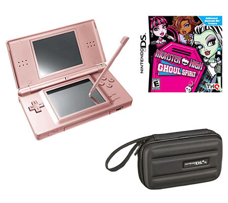 Nintendo DSi XL - Monster High: Ghoul Spirit &Carrying Case