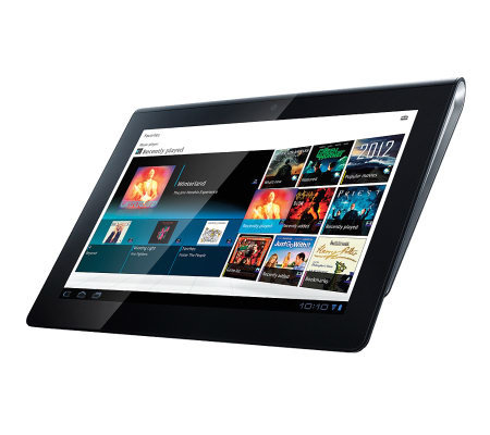 "Sony 9.4"" Android Tablet, 1GB RAM, 32GB HD, Music DL Bundle"