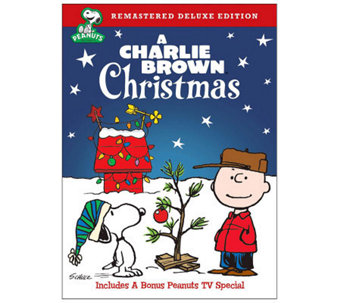 A Charlie Brown Christmas (Remastered Deluxe Edition) DVD - E263663